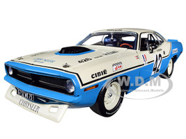 1970 Plymouth Hemi Barracuda #42 Henri Chemin Chrysler of France Limited Edition 696 pieces Worldwide 1/18 Diecast Model Car Acme A1806102