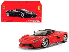 Ferrari LaFerrari Aperta Red Signature Series 1/43 Diecast Model Car Bburago 36907