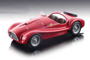 Ferrari 225 S Spyder Vignale 1952 1953 Press Version Red Limited Edition 150 pieces Worldwide 1/18 Model Car Tecnomodel TM18-81 A