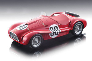 Ferrari 225 S Spyder Vignale #90 Antonio Stagnoli Clemente Biondetti 1952 GP Monaco 3rd Place Limited Edition 90 pieces Worldwide 1/18 Model Car Tecnomodel TM18-81 C