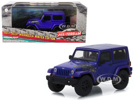 2017 Jeep Wrangler Winter Edition Xtreme Purple All Terrain Series 1/43 Diecast Model Car Greenlight 86151