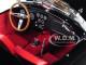 1963 Shelby AC Cobra 289 Roadster Black 1/18 Diecast Model Car Norev 182754
