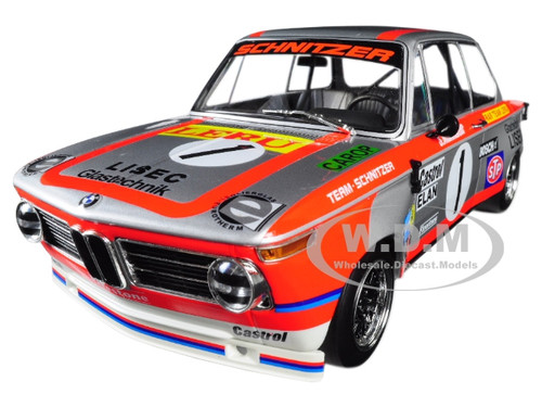 BMW 2002 ti #1 Sepp Manhalter Rar Team Leru Winner 1000 km Osterreichring 1974 Limited Edition 500 pieces Worldwide 1/18 Diecast Model Car Minichamps 155742601