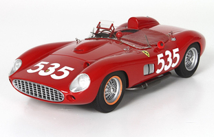 Ferrari 315 S #535 Piero Taruffi Winner 1957 Mille Miglia Red Limited Edition 500 pieces Worldwide 1/18 Model Car BBR C1807