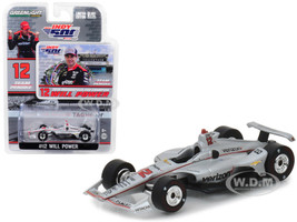 2018 IndyCar #12 Will Power Team Penske Verizon Indianapolis 500 Champion 1/64 Diecast Model Car Greenlight 10825