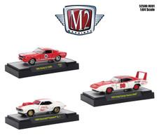 MOONEYES ASSORTMENT 3 CARS SET 1//64 DIECAST MODELS BY M2 MACHINES 32500-MJS10