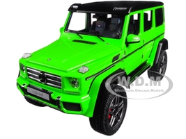 Mercedes Benz G500 4X4 2 Alien Green 1/18 Model Car Autoart 76315