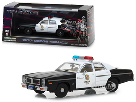 1977 Dodge Monaco Metropolitan Police The Terminator 1984 Movie 1/43 Diecast Model Car Greenlight 86534