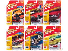 Classic Gold 2018 Release 2 Set A 6 Cars 1/64 Diecast Models Johnny Lightning JLCG014