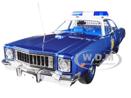 1975 Plymouth Fury Arkansas State Police Smokey and The Bandit 1977 Movie 1/18 Diecast Model Car Greenlight 19044
