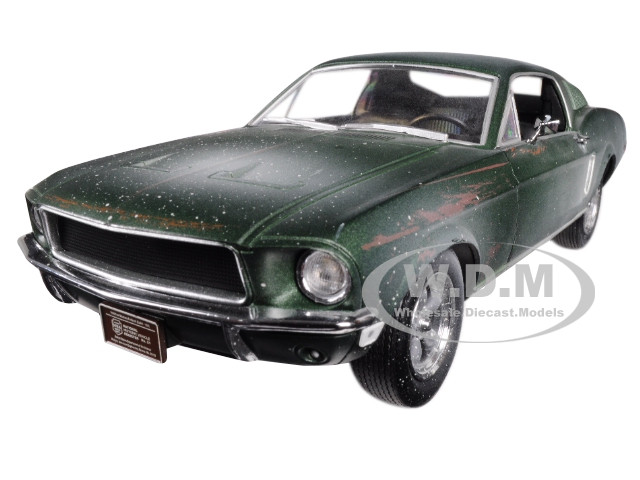 1968 Ford Mustang GT Fastback Green Unrestored