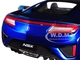 2018 Acura NSX Blue Black Top 1/24 Diecast Model Car Maisto 31234
