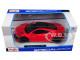 2018 Acura NSX Red Black Top 1/24 Diecast Model Car Maisto 31234
