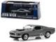 1969 Ford Mustang BOSS 429 Gray Black Stripes John Wick 2014 Movie 1/43 Diecast Model Car Greenlight 86540