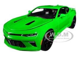 2017 Chevrolet Camaro SS Krypton Green 1/24 Diecast Model Car Greenlight 18244