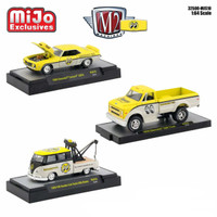 Mooneyes Assortment Set 3 Cars Limited Edition 3200 pieces Worldwide 1/64 Diecast Models M2 Machines 32500-MJS10