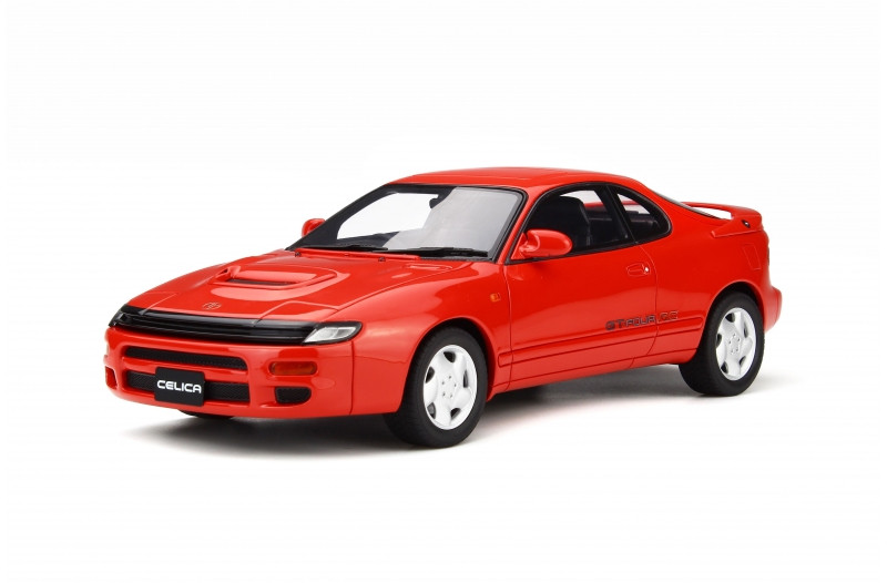 Toyota Celica GT Four ST185 GT-Four A Super Red Limited Edition 1500 pieces Worldwide 1/18 Model Car Otto Mobile OT299
