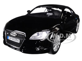 Audi TT Coupe Black 1/24 Diecast Model Car Motormax 73340