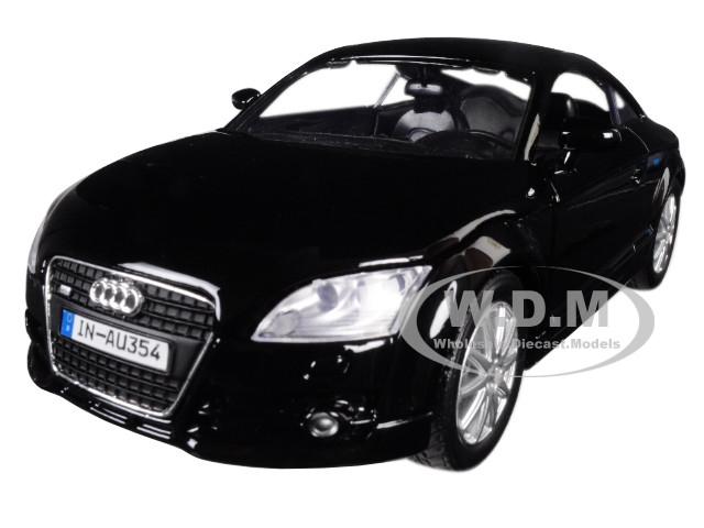 Audi TT Coupe Black 1/24 Diecast Model Car Motormax 73340