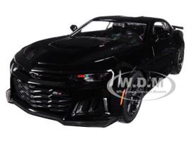 2017 Chevrolet Camaro ZL1 Black 1/24 Diecast Car Model Motormax 79351
