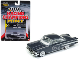 1960 Chevrolet Impala Shadow Gray Metallic Limited Edition 3200 pieces Worldwide 1/64 Diecast Model Car Racing Champions RCSP003