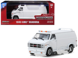 1983 GMC Vandura Custom White 1/43 Diecast Model Car Greenlight 86326