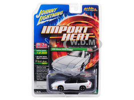 1990 Nissan 240SX Custom White Black Top Street Freaks Series Limited Edition 3600 pieces Worldwide 1/64 Diecast Model Car Johnny Lightning JLCP7128