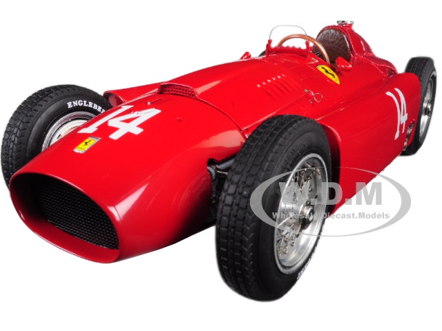 1956 Ferrari Lancia D50 #14 Peter Collins Grand Prix France Limited Edition 1500 pieces Worldwide 1/18 Diecast Model Car CMC 182