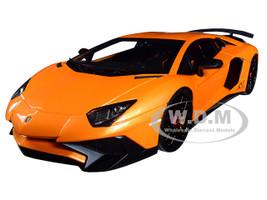 Lamborghini Aventador LP 750-4 Superveloce Orange 1/18 Model Car Kyosho C 09521 P