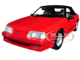 1988 Ford Mustang 5.0 Convertible Red Married with Children 1987 1997 TV Series Limited Edition 630 pieces Worldwide 1/18 Diecast Model Car GMP 18904