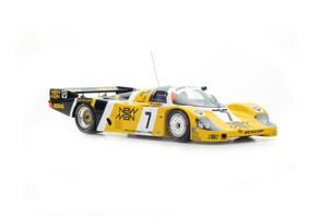 Porsche 956 #7 Winner 24 Hours Le Mans 1985 Ludwig Winter Barilla 1/18 Model Car Spark 18LM85