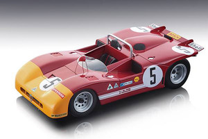 Alfa Romeo T33/3 #5 Vaccarella Hezemans Winner 1971 Targa Florio Mythos Series Limited Edition 100 pieces Worldwide 1/18 Model Car Tecnomodel TM18-50 C