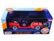 1956 Ford F-100 Pickup Truck Gulf Dark Blue Red 1/24 Diecast Model Car Motormax 79647