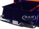 1955 Chevrolet 5100 Stepside Pickup Truck Gulf Dark Blue Orange 1/24 Diecast Model Car Motormax 79651