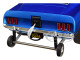 1969 Ford Mustang Gasser AA/GS The Boss Metallic Blue Limited Edition 582 pieces Worldwide 1/18 Diecast Model Car GMP 18913
