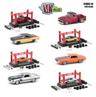 Model Kit 4 pieces Set Release 20 1/64 Diecast Model Cars M2 Machines 37000-20