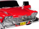 1958 Plymouth Fury Red Evil Version Blacked Out Windows Christine 1983 Movie 1/24 Diecast Model Car Greenlight 84082