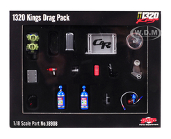 Accessory Pack 19 pieces 1969 Chevrolet Camaro 1320 Drag Kings 1/18 Diecast Replica GMP 18908