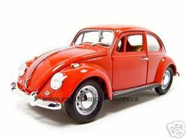 1967 Volkswagen Beetle Red 1/18 Diecast Model Car Road Signature 92078