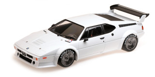 1979 BMW M1 Procar White 1/12 Diecast Model Car Minichamps 125792901