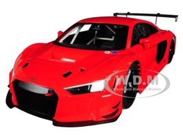 Audi R8 FIA GT GT3 Plain Color Version Red Black Wheels 1/18 Model Car Autoart 81601