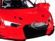 Audi R8 FIA GT GT3 Plain Color Version Red Black Wheels 1/18 Model Car Autoart 81601