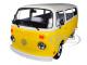 1978 Volkswagen Type 2 T2 Bus Yellow White Top Little Miss Sunshine 2006 Movie 1/24 Diecast Model Greenlight 84081