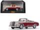1958 Mercedes Benz 220 SE Cabriolet Light Ivory Red 1/43 Diecast Model Car Vitesse 28627