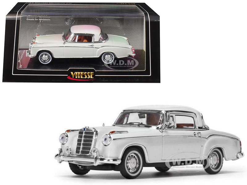 1958 Mercedes Benz 220 SE Coupe Ivory 1/43 Diecast Model Car Vitesse 28665