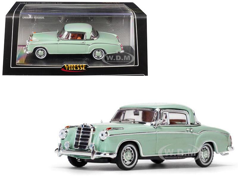 1958 Mercedes Benz 220 SE Coupe Green 1/43 Diecast Model Car Vitesse 28666
