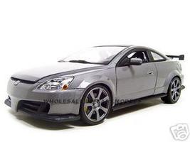 2003 Honda Accord Gray Metallic 1/18 Diecast Model Car Motormax 73146