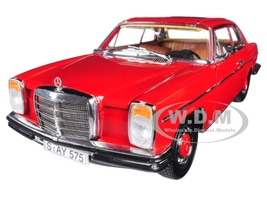 1973 Mercedes Benz Strich 8 Coupe Red The Platinum Collection 1/18 Diecast Model Car Sunstar 4575
