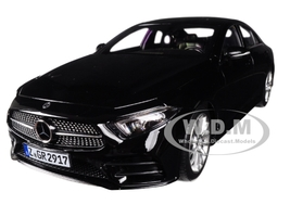 2018 Mercedes CLS Class Black 1/18 Diecast Model Car Norev 183592