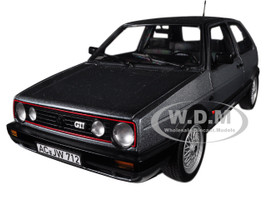 1990 Volkswagen Golf II GTI Grey Metallic 1/18 Diecast Model Car Norev 188442